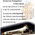 Konzert am Freitagabend in Klein Berkel