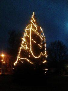 Weihnachtsbaum an der Grabbestraße